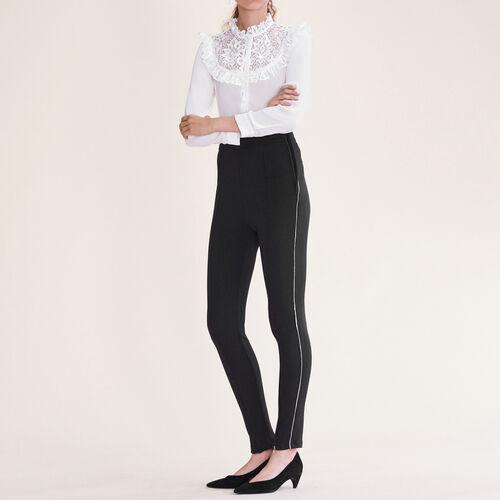 Legging avec multi-zip - Pantalons - MAJE