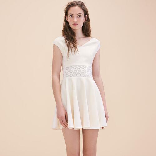 Embroidered sleeveless dress - Dresses - MAJE