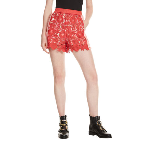 Short en guipure - Jupes & Shorts - MAJE