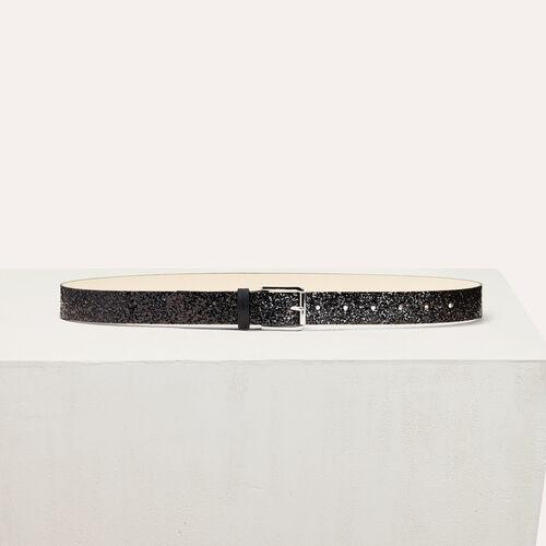 Sequinned belt - Belts - MAJE