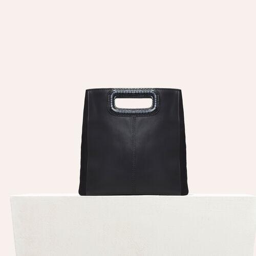 Leather bag - M bag - MAJE