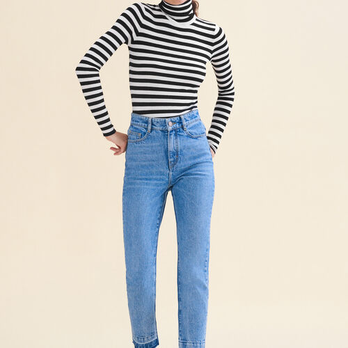 Faded skinny jeans - Jeans - MAJE