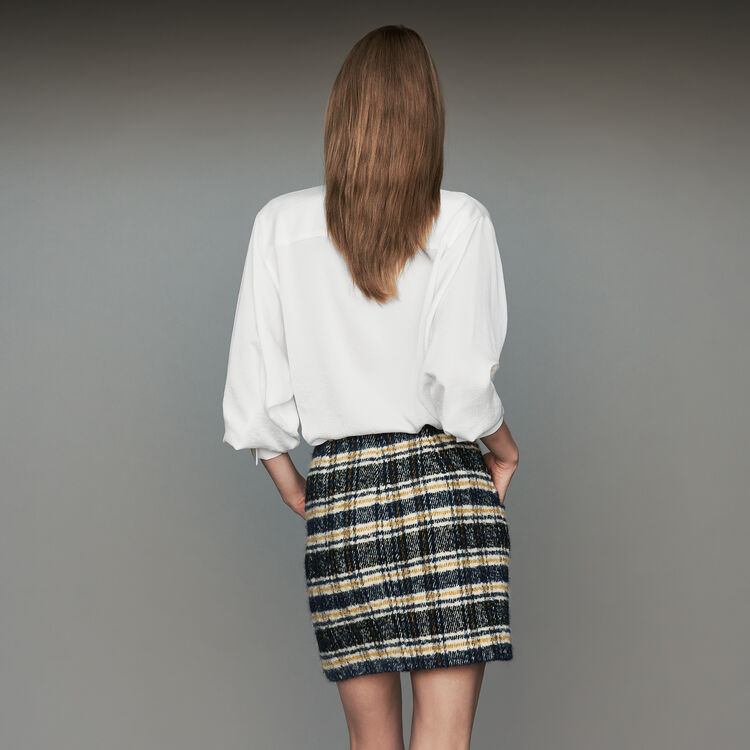 Jupe courte à carreaux : Jupes & Shorts couleur CARREAUX