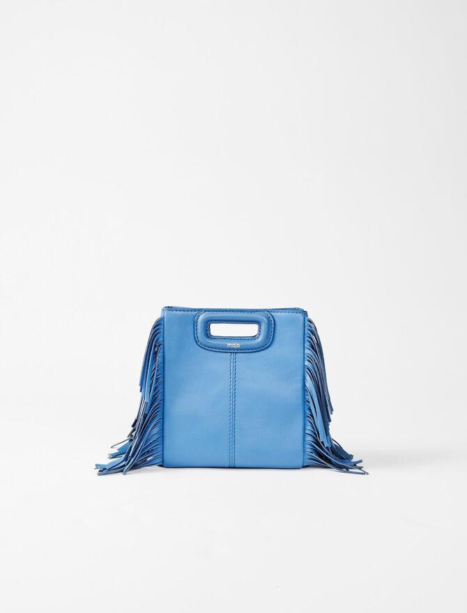 Leather mini M bag - Winter collection - MAJE