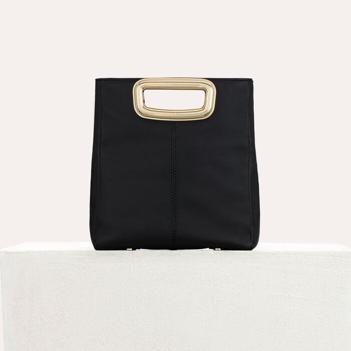 M Skin bag in leather : M Skin color Black 210