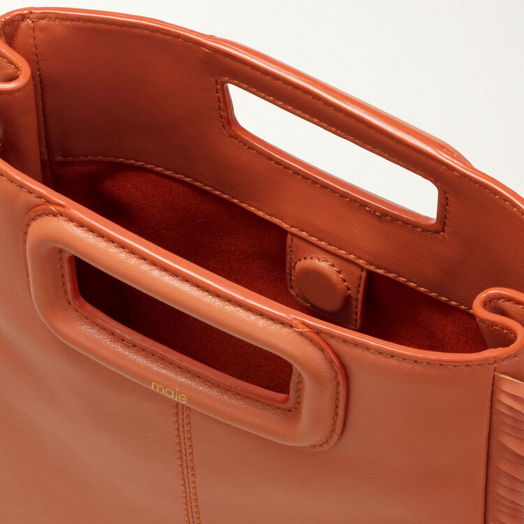 Sac M à Franges : Sac M couleur Terracotta