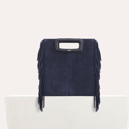Suede M bag - M bags - MAJE