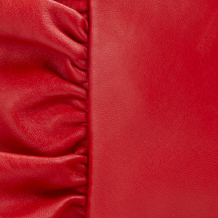 Sac M à volants : Sacs M couleur Rouge