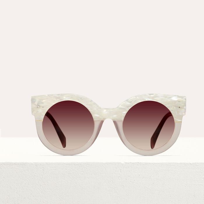 Lunettes de soleil cat eye : Tout voir couleur ROSE