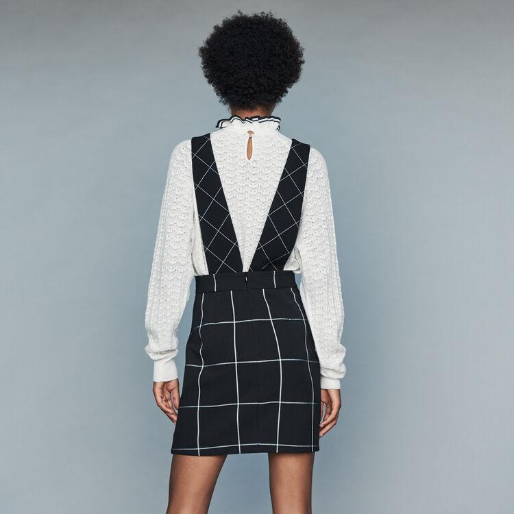 Jupe à larges bretelles : Jupes & Shorts couleur CARREAUX