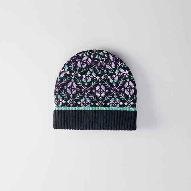 Bonnet en laine mélangée et Lurex - Bonnets et bobs - MAJE