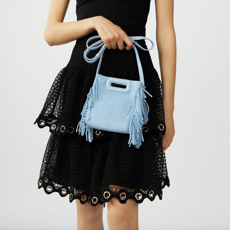 Jupe volantée en guipure : Jupes & Shorts couleur Black