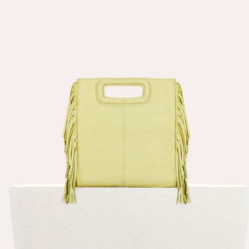 Lambskin M bag : null color Yellow