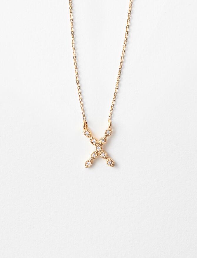 Collier X  Strassé -  - MAJE