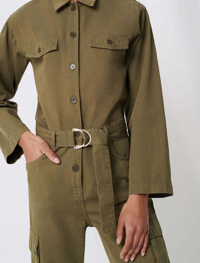 Combinaison workwear esprit army - Combinaisons - MAJE