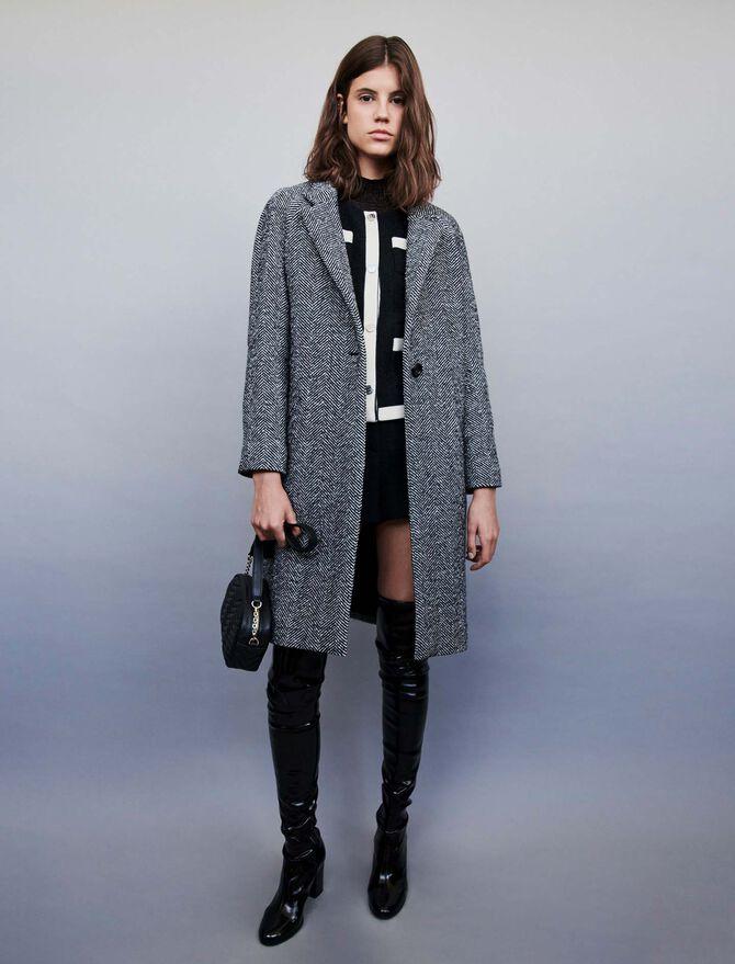 Manteau en chevron - Blousons & Vestes - MAJE