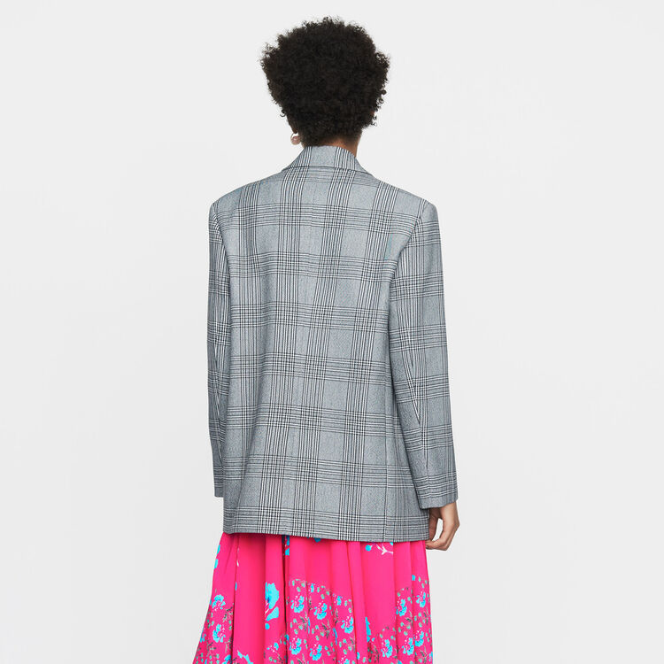 Veste de tailleur : Office girl couleur CARREAUX