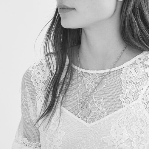 Lace top - Tops - MAJE