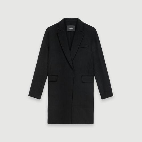 Manteau court en double face : Manteaux & Blousons couleur Noir