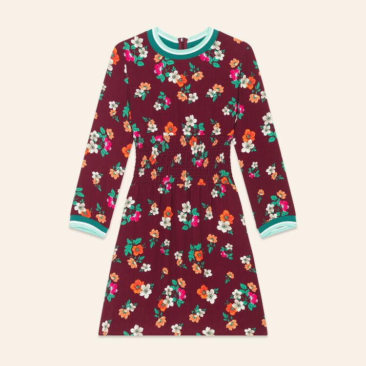 Robe fluide à imprimé rétro : Robes couleur Imprime