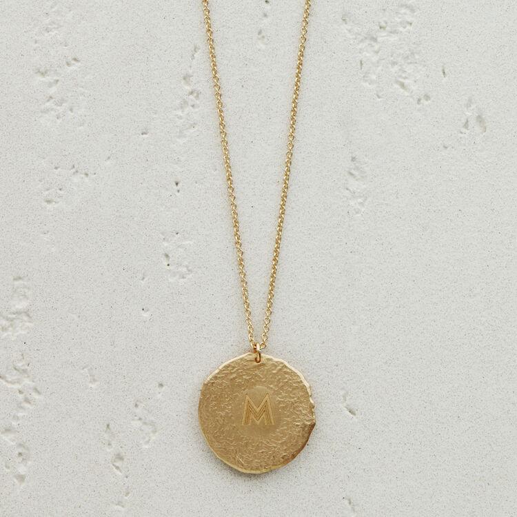 Collier Balance signe du zodiaque : Médailles couleur OR
