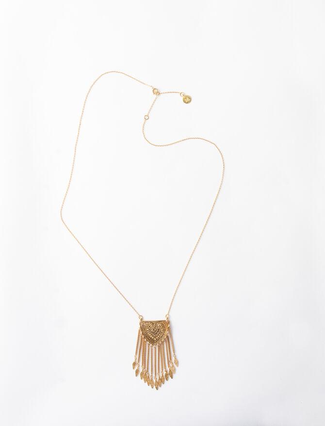 Collier à pendentif inspiration berbère -  - MAJE