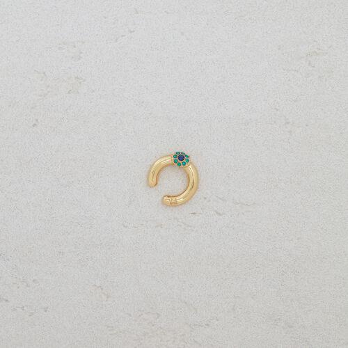 """Earcuff"""" Eye"""" : Bijoux couleur OR"""