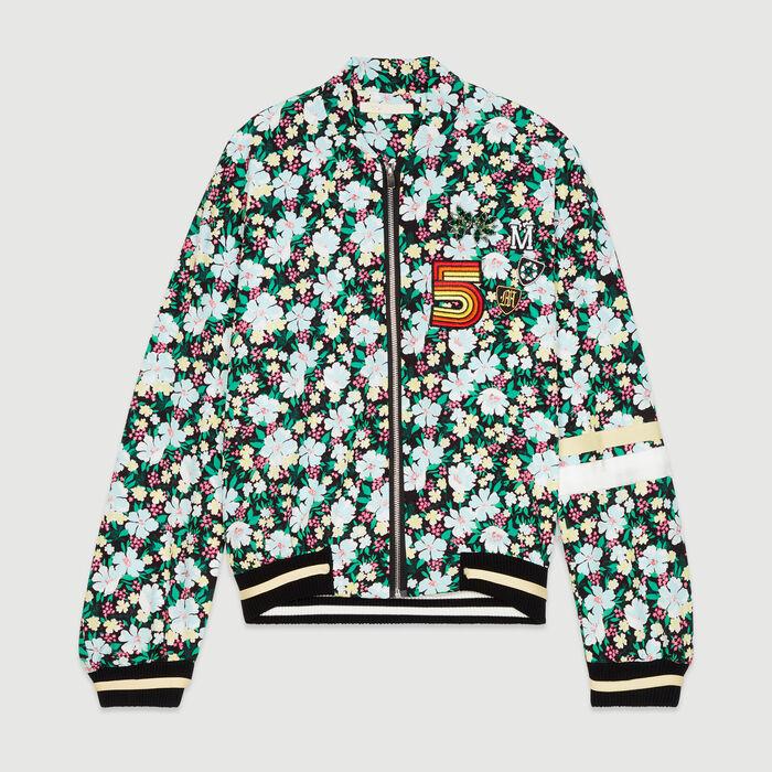 Floral print jacket : Jackets color PRINTED