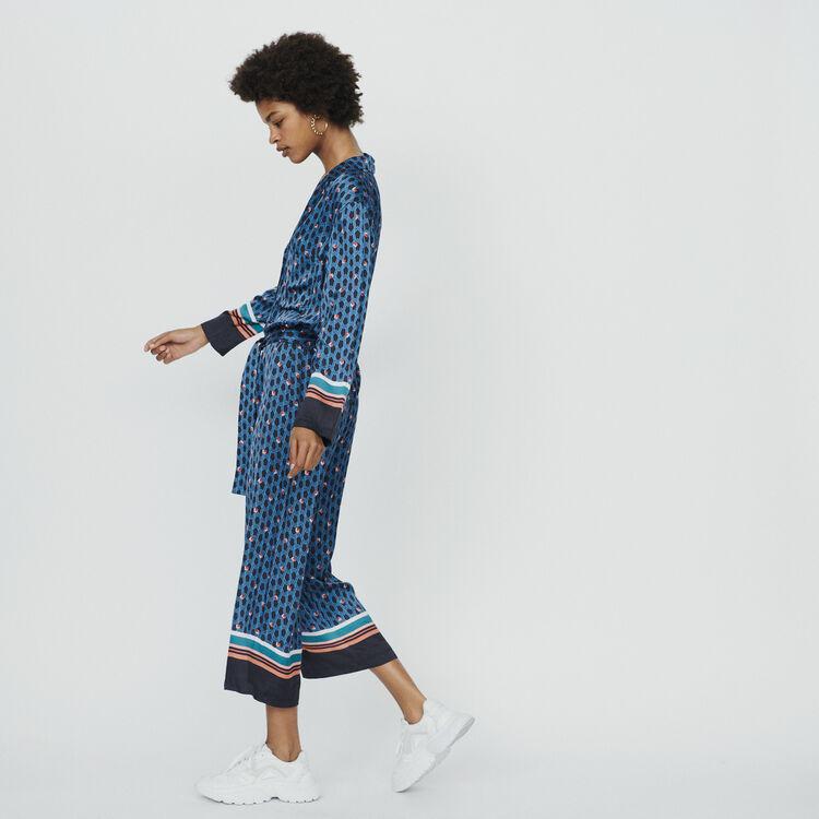 Combinaison-pantalon à imprimé : Pantalons & Jeans couleur IMPRIME