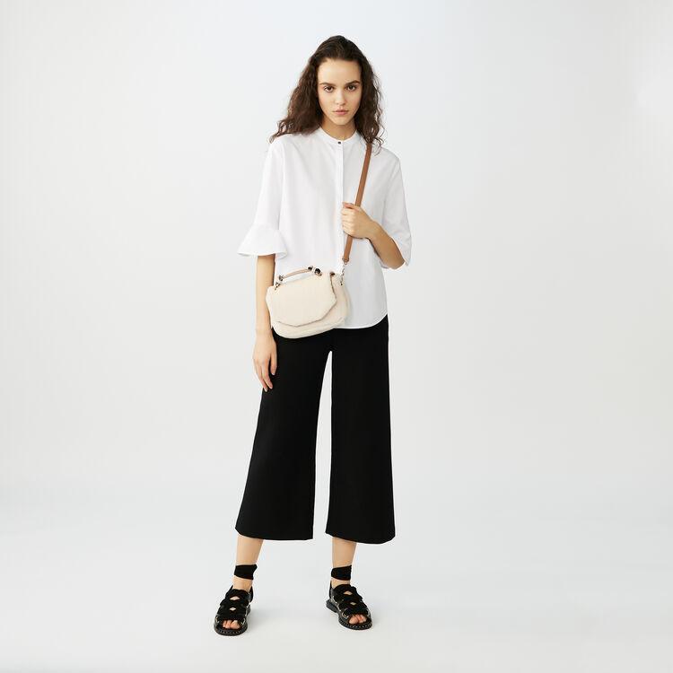 Chemise oversize en popeline : Chemises couleur Blanc