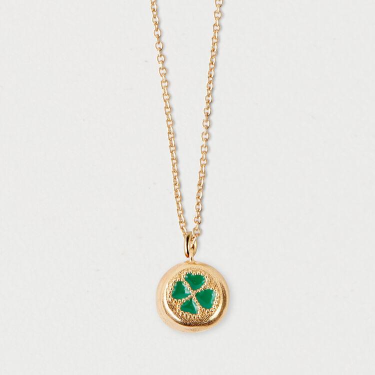 Collier trèfle à 4 feuilles : Bijoux couleur OR