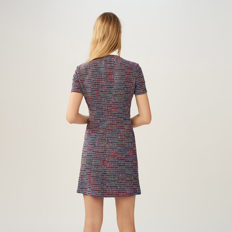 Robe en tweed : Robes couleur Jacquard