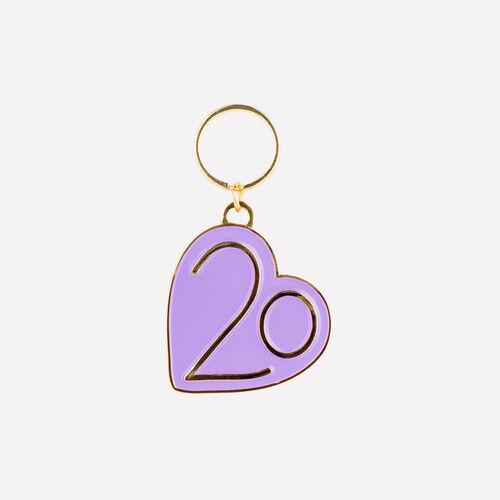 Keyrings X 20 years : Urban color Purple