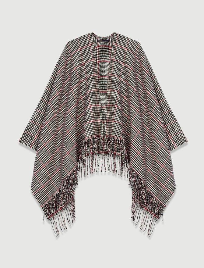 Poncho en laine mélangée - Châles & Ponchos - MAJE