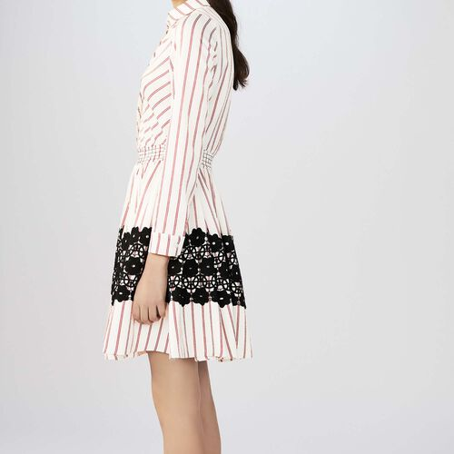 Striped dress : Dresses color Stripe