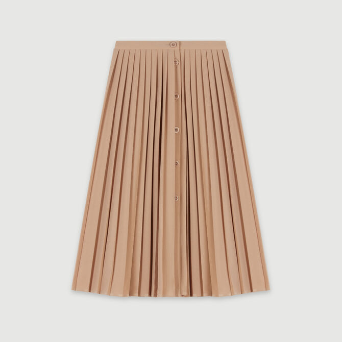 Pleated skirt with buttons - staff private sale 20 - MAJE