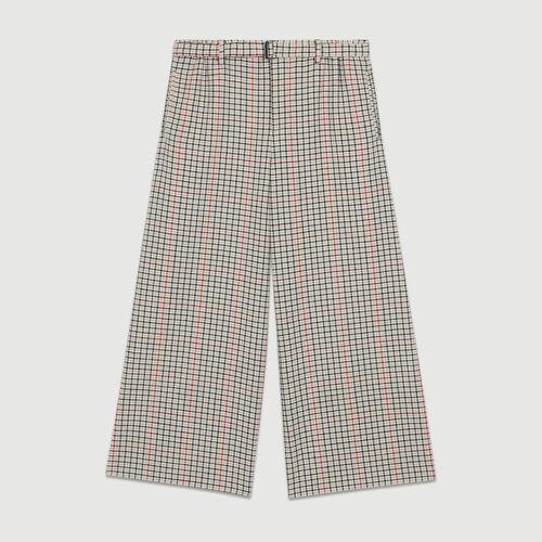 Pantalon à carreaux : Prêt-à-porter couleur CARREAUX