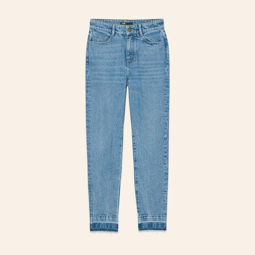Faded skinny jeans - Jeans - MAJE