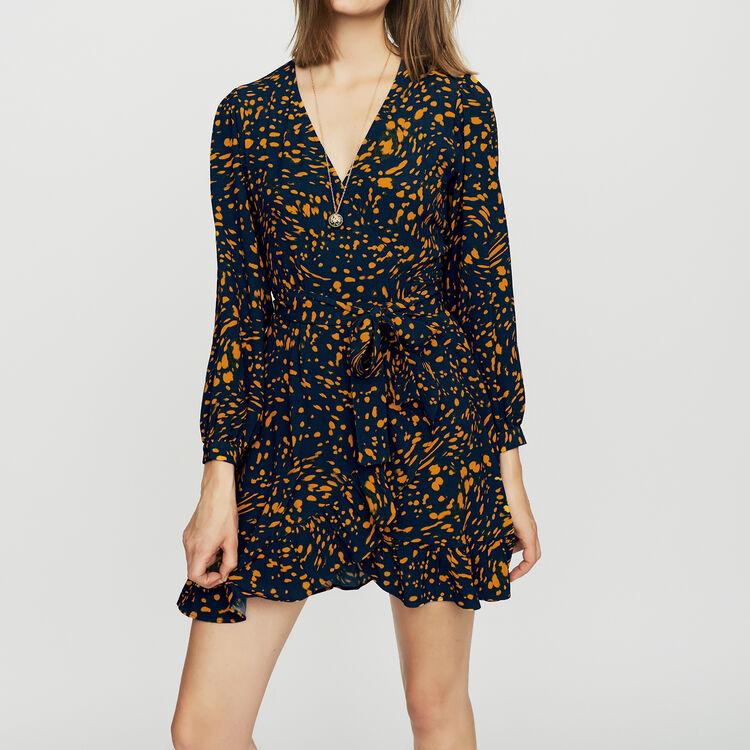 Robe à imprimé léopard : Robes couleur IMPRIME