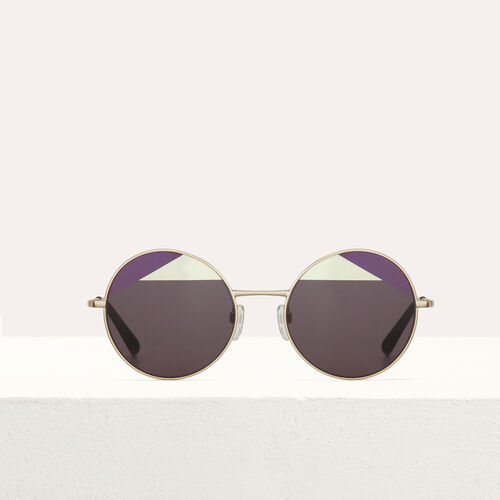 Metal sunglasses : Eyewear color Multico