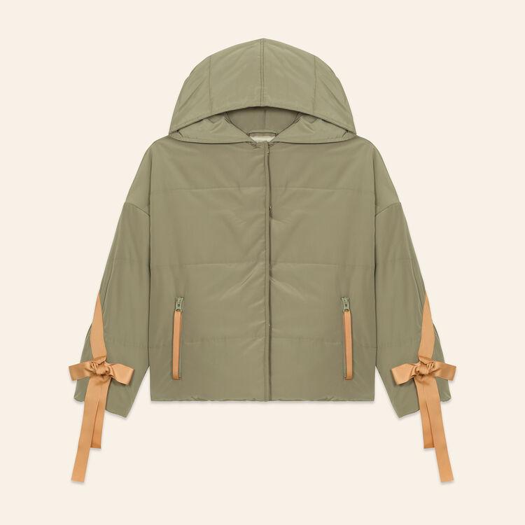 Doudoune courte à capuche : LAST CHANCE couleur Kaki