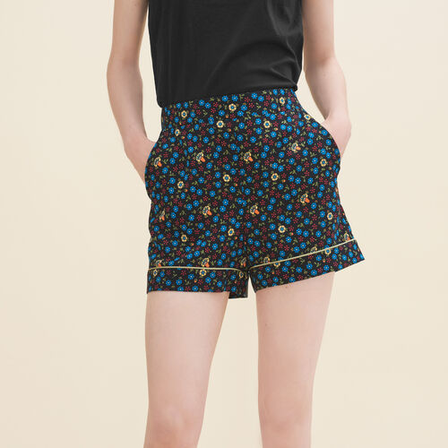 Short à imprimé floral : Jupes & Shorts couleur IMPRIME