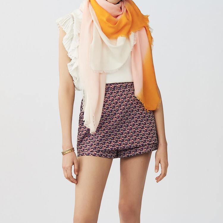 Chale imprimé M tie and dye : Châles & Ponchos couleur BICOLORE