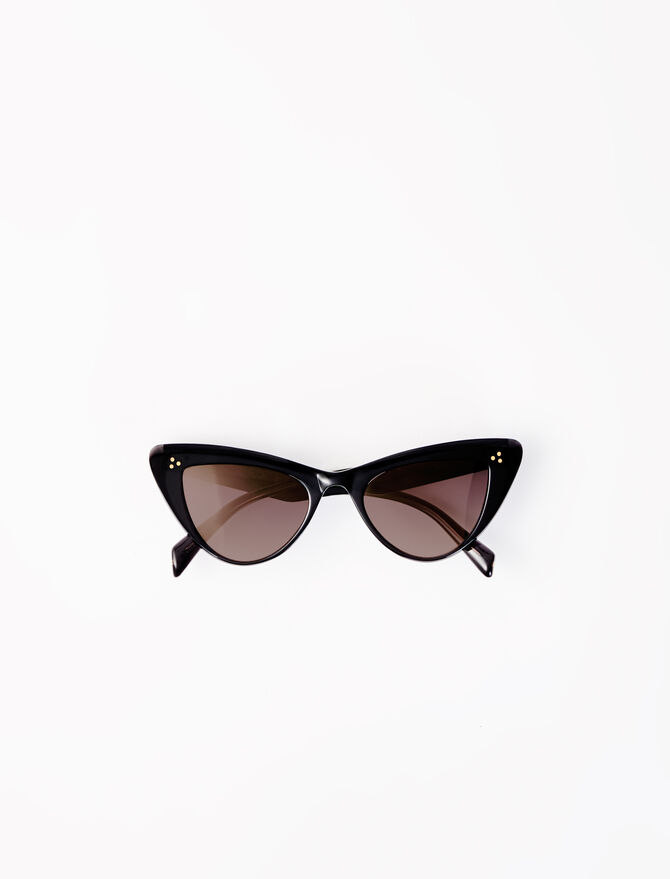 Acetate butterfly sunglasses -  - MAJE