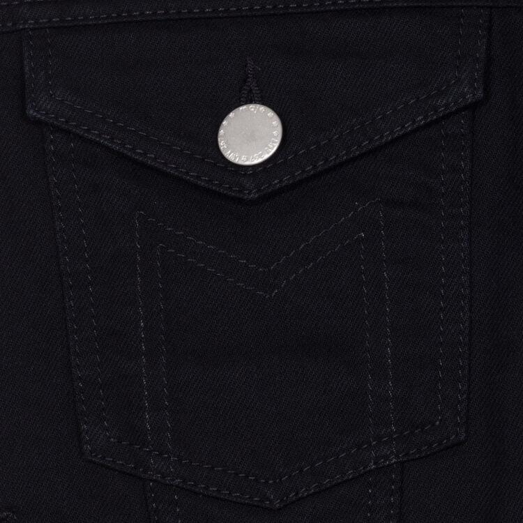 Veste en jean sans manches : Blousons couleur Black