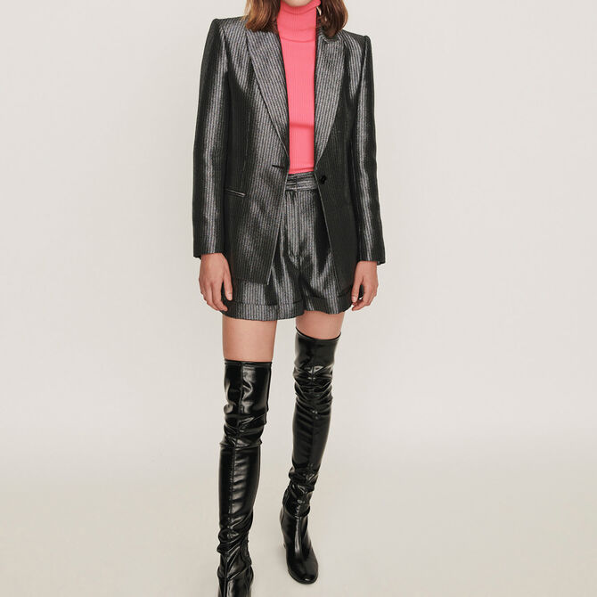 Lurex jacket - See all - MAJE
