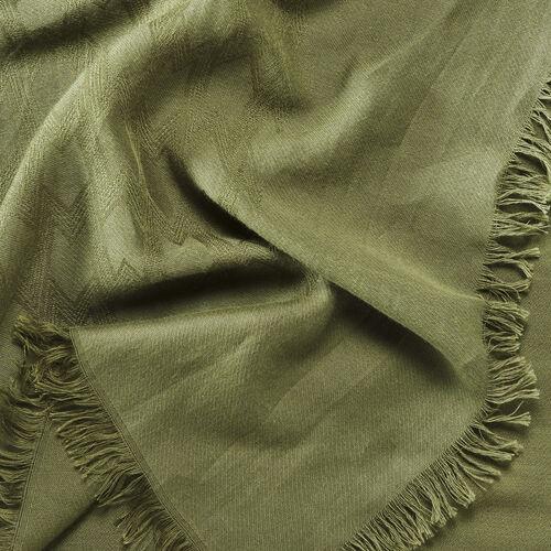 Châle en coton mélangé : Accessoires couleur Black