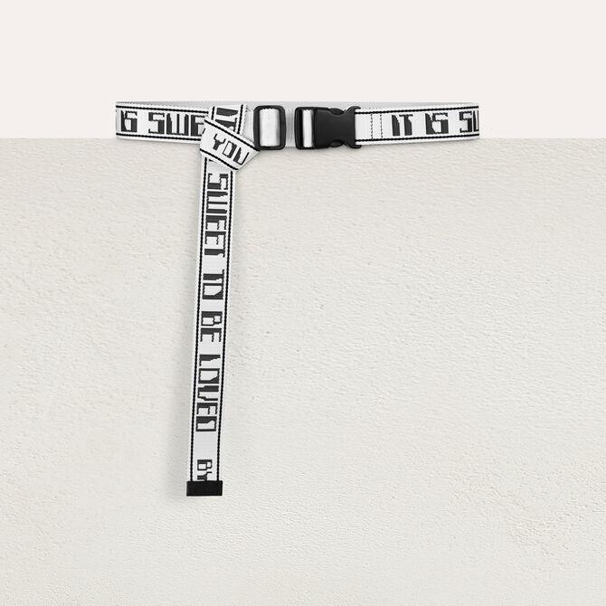 Strap belt - staff private sale 20 - MAJE