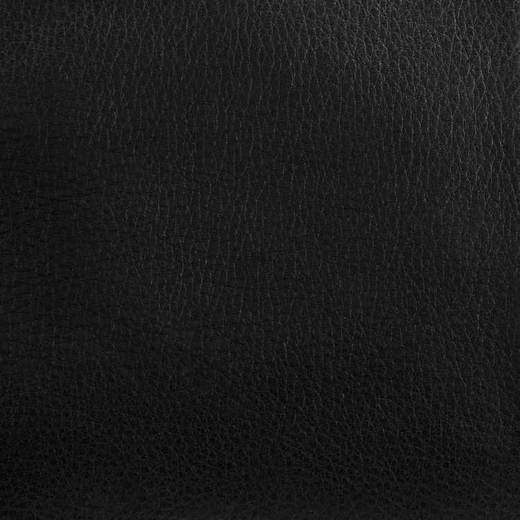 Sac M Walk à franges en cuir : M Walk couleur BLACK