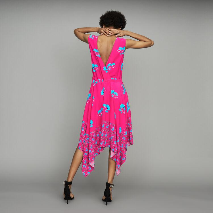 Robe longue sans manches imprimée : Prêt-à-porter couleur IMPRIME